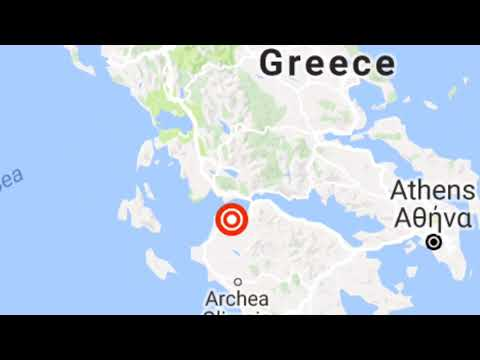 Greece earthquake ALERT TWO earthquakes hit in FOUR minutes Landside