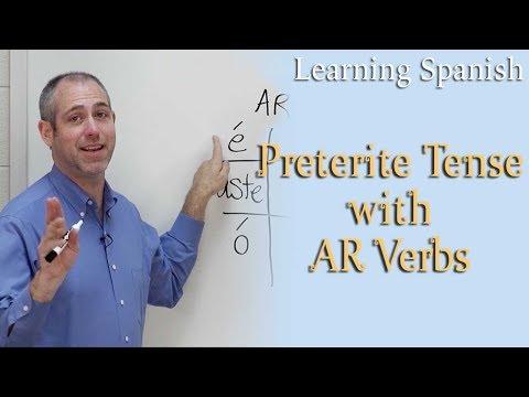 preterite-tense-w/-ar-verbs- -spanish-for-beginners