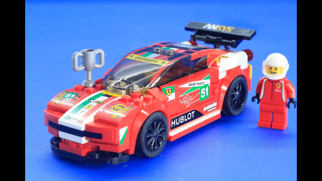 how to build lego speed champions