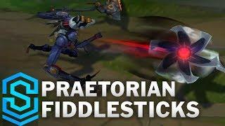 Praetorian Fiddlesticks Skin Spotlight - Pre-Release - League of Legends