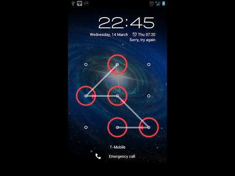 how to reset Android pattern lock without data reset