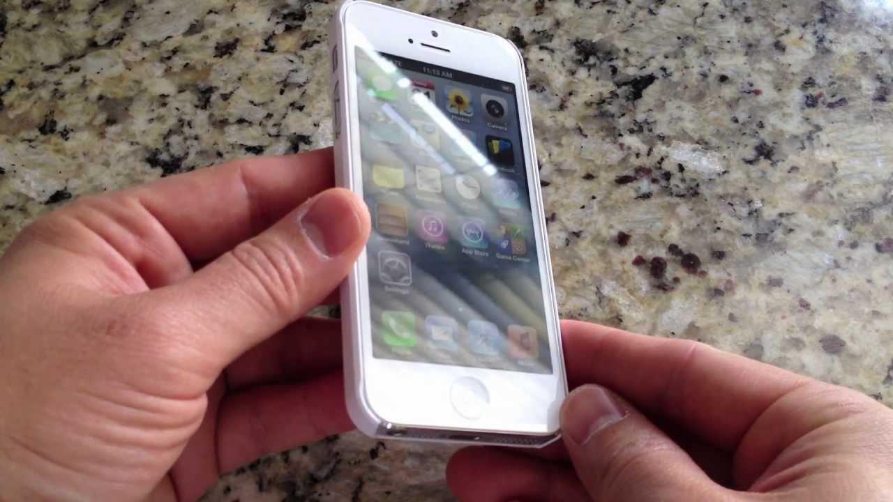 new arrival ea869 36d62 SGP SPIGEN Ultra Thin Air iPhone 5 Case Unboxing and Review