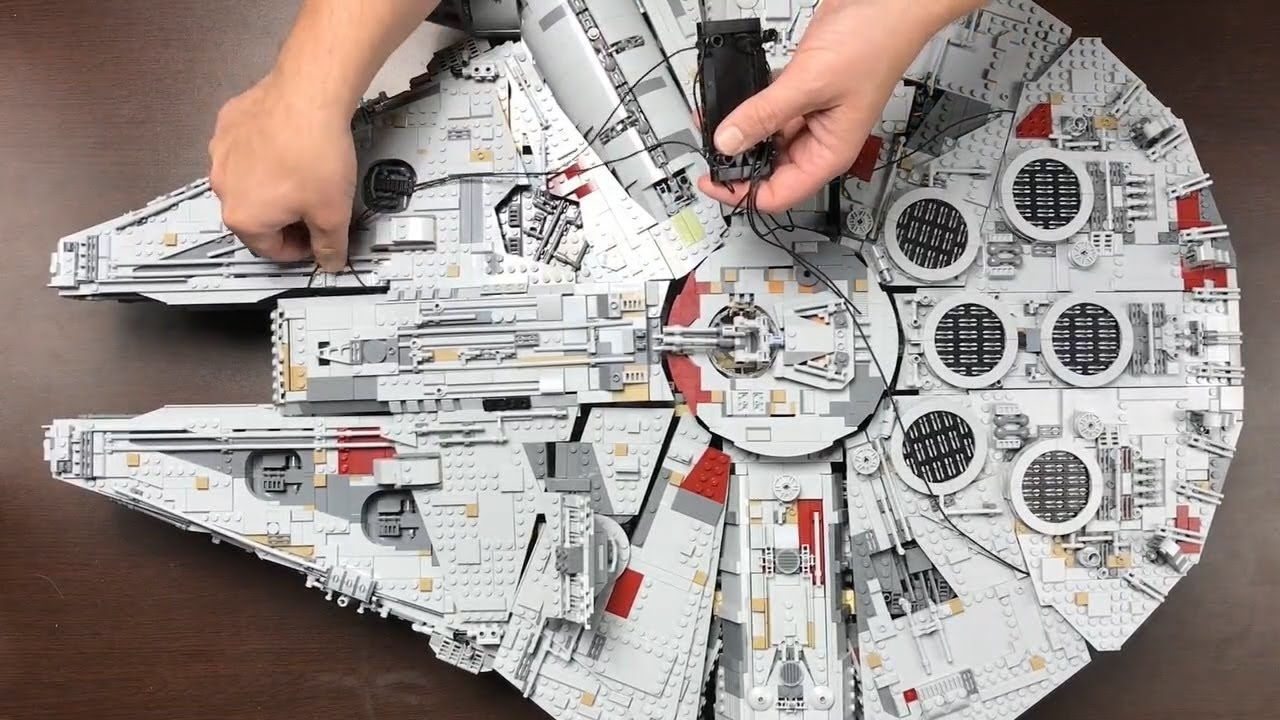 How To Display Your New Lego Ucs Millennium Falcon Youtube