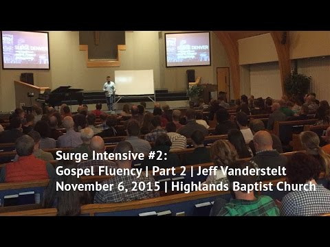 Gospel Fluency Intensive - Part 2