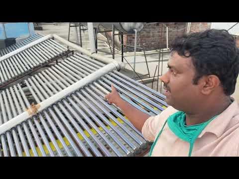 Solar water heater repairing