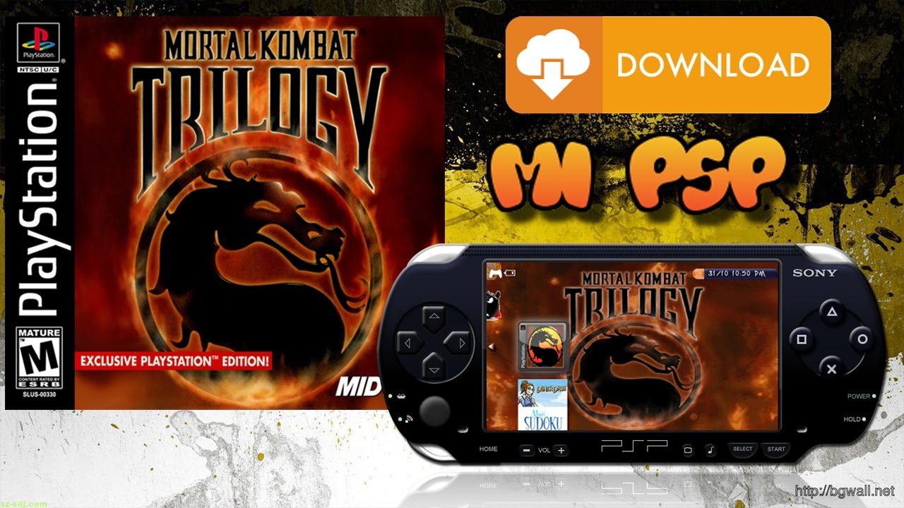 Mortal kombat unchained ppsspp cso compressed 240mb general.