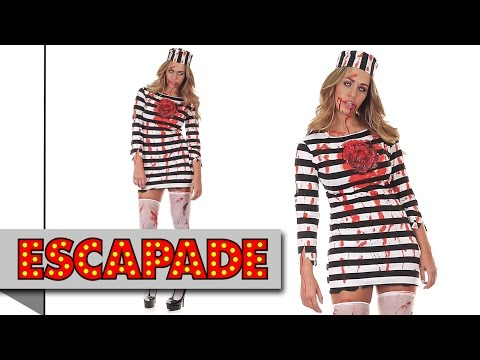 Baby Girls Boys Prisoner Convict Halloween Fancy Dress Costume Outfit 6-18 mth