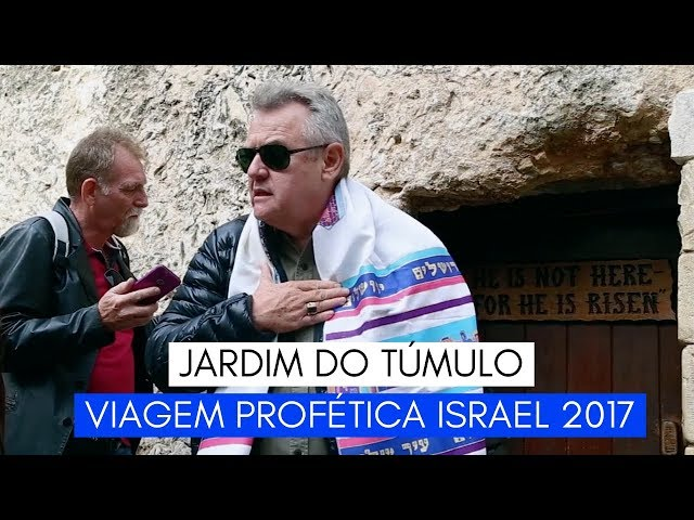 Viagem Profética ISRAEL - Jardim do Túmulo - Ministério Intimo do Pai