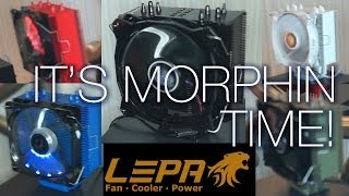 Lepa Suite - Super Stable 1600W PSU, Colored Aluminum Heatsinks - CES 2014