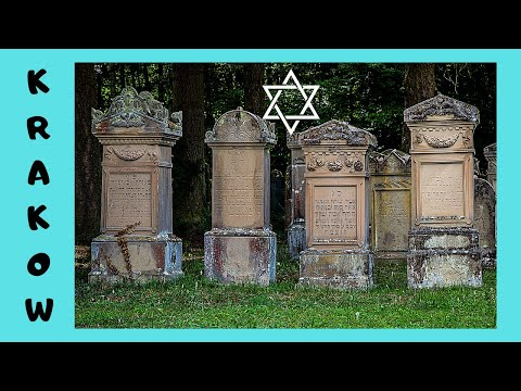 KRAKOW (Cracow), the historic OLD JEWISH CEMETERY (Poland)