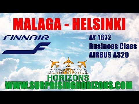 Malaga - Helsinki | Finnair A320 | Business Class | Trip Report