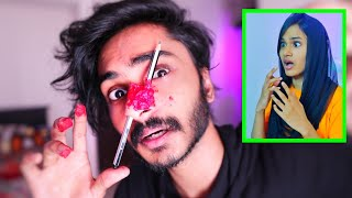 PENCIL PRANK ON MY SISTER 😂😂😂 UNBOXINGDUDE l