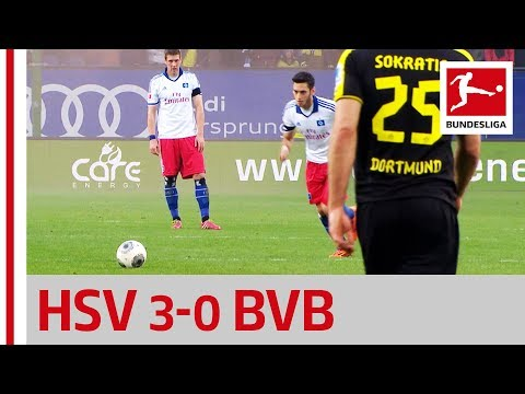 Hamburger SV vs. Borussia Dortmund - Calhanoglu's Legendary Freekick Cracker
