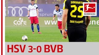 Hamburger SV vs. Borussia Dortmund - Calhanoglu's Legendary Freekick Cracker