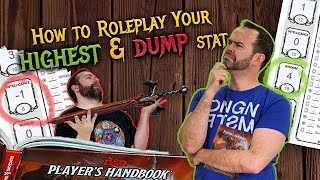 How to RP Your Highest and Lowest Mental Stats | D&D | Web DM