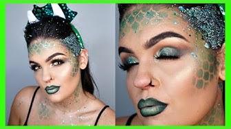 GLAM DRAGON Halloween Makeup