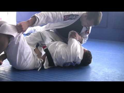 Frankie Edgar and Ricardo Almeida Gi training- Ricardo Almeida Jiu Jitsu - Hamilton NJ