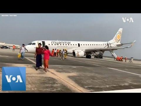 Myanmar Plane Makes
