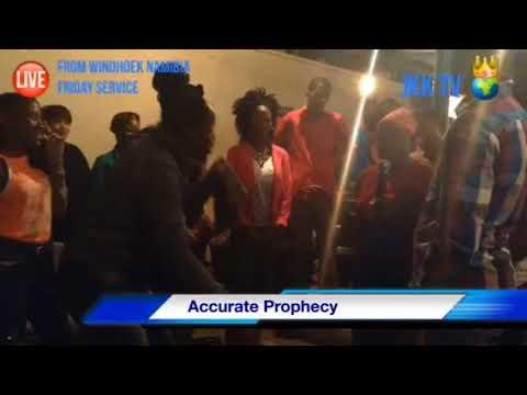 Prophetic Night friday service Live From Windhoek Namibia JKK TV