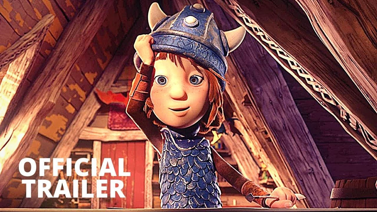 Download VIC THE VIKING AND THE MAGIC SWORD Official Trailer (NEW 2020) Animation, Family Movie HD