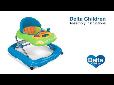 Delta Children Lil' Fun Walker Assembly Video