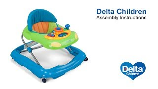Delta Children Lil' Fun Walker Assembly Video