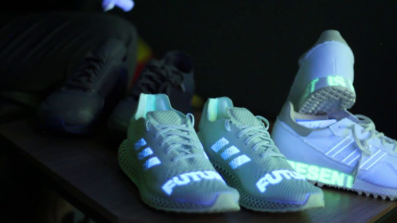watch b68ff 1ff54 UNBOXING Daniel Arsham pack adidas Futurecraft 4D