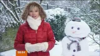 UK Snow Coverage - 2nd February 09 (BBC Breakfast 8am)
