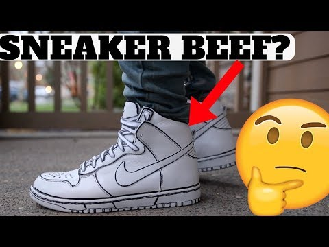 SNEAKER BEEF OVER THIS UNBOXING…?!