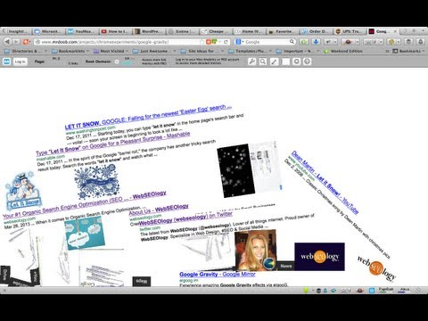 How to do Google Gravity Trick - I'm Feeling Lucky