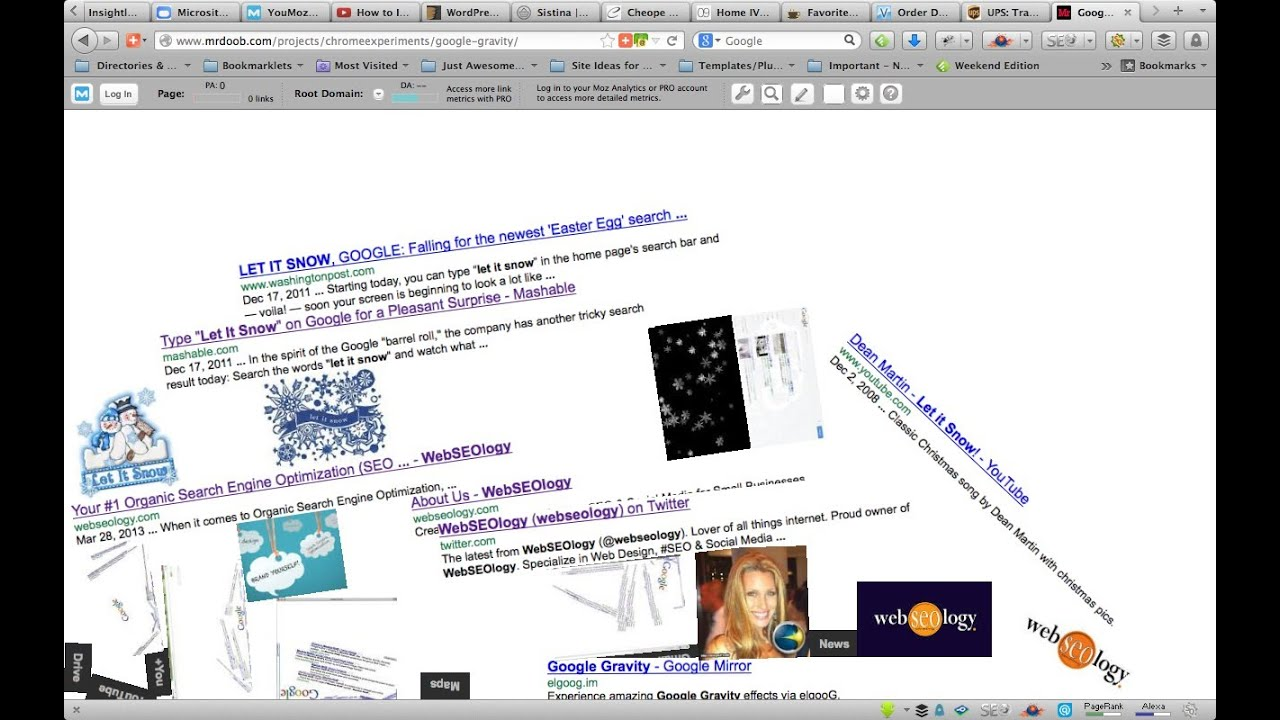20c97782d3a How to do Google Gravity Trick - I m Feeling Lucky - YouTube