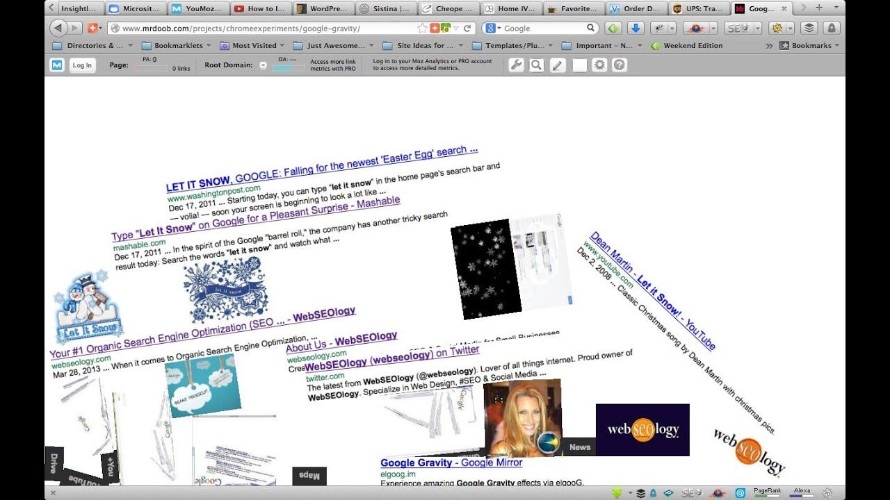 45c40d13e2f How to do Google Gravity Trick - I m Feeling Lucky - YouTube
