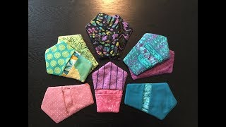 HOW TO - MAKE A FINGER THUMB POT HOLDER - USING  FABRIC SCRAPS