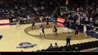 UConn Women's Highlights vs. IUP Exhibition 11/01/2016