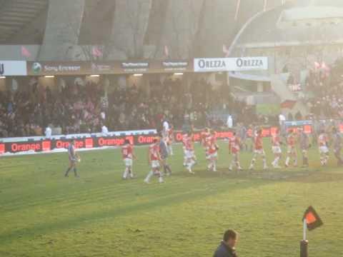 Stade Français VS Dax rugby match stade jean bouin Paris 56 - 17 Last try