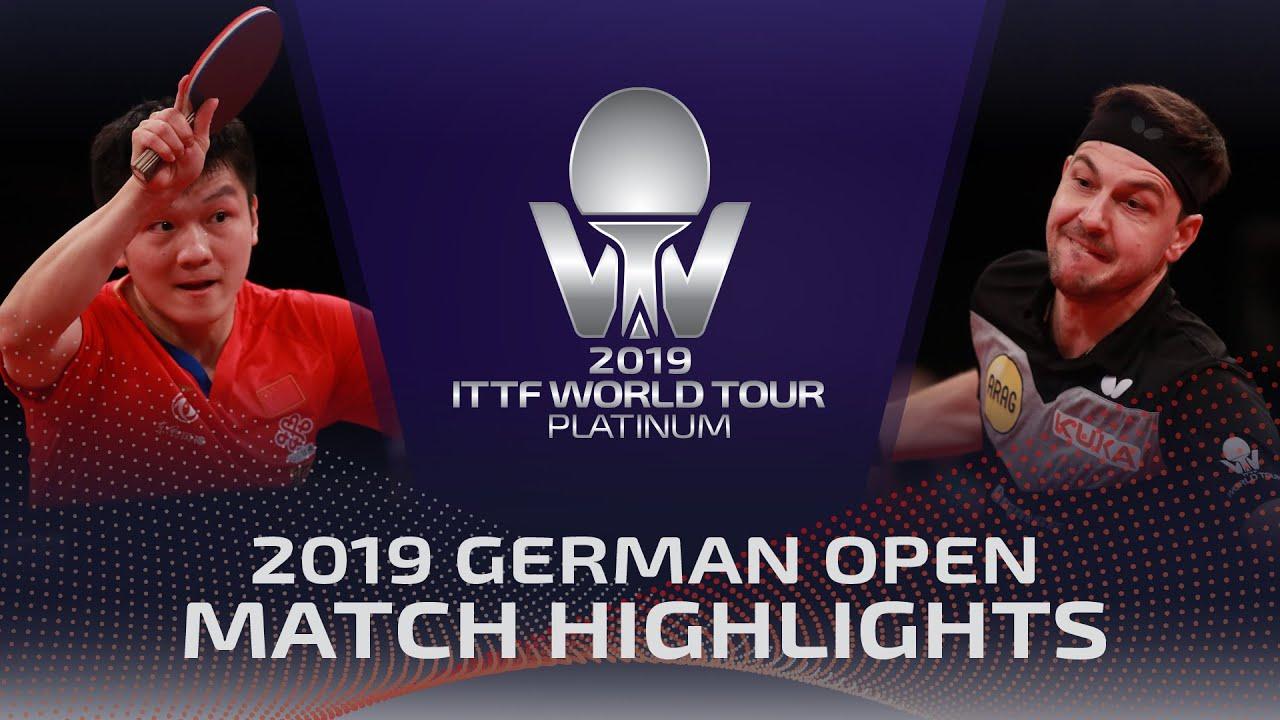 Download Fan Zhendong vs Timo Boll | 2019 ITTF German Open Highlights (1/4)