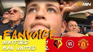 Lukaku and Smalling goals enough to beat Watford! | Watford 1-2 Man United | 90min Fanvoice