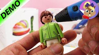 3D pero | Výroba playmobilové figurky | Ukázka