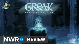 Greak: Memories of Azur (Switch) Review - Hand-Drawn Beauty meets Baffling Game Mechanic (Video Game Video Review)