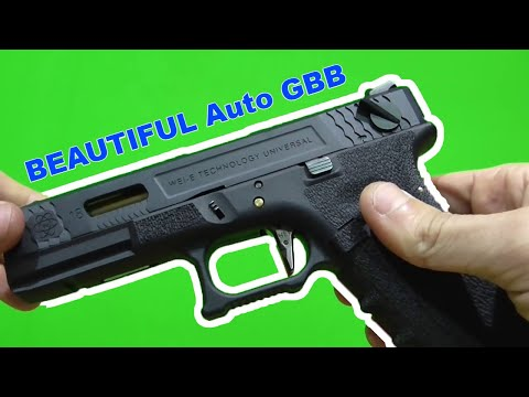 """FULL REVIEW-UNBOXING WE G Force 18 Black&Gold """" Its WE Bro"""""""
