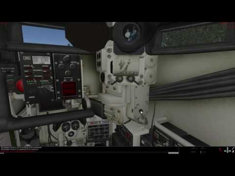 How to command leopard 2A4