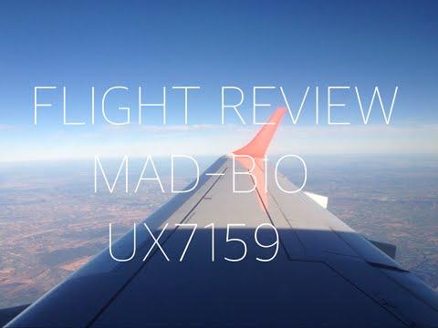 FLIGHT REVIEW: AIR EUROPA UX7159 MADRID-BILBAO (MAD-BIO)