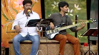 "Taseer ""Chinta na karo"" (Raga- Bachospati) live at Good morning akash"