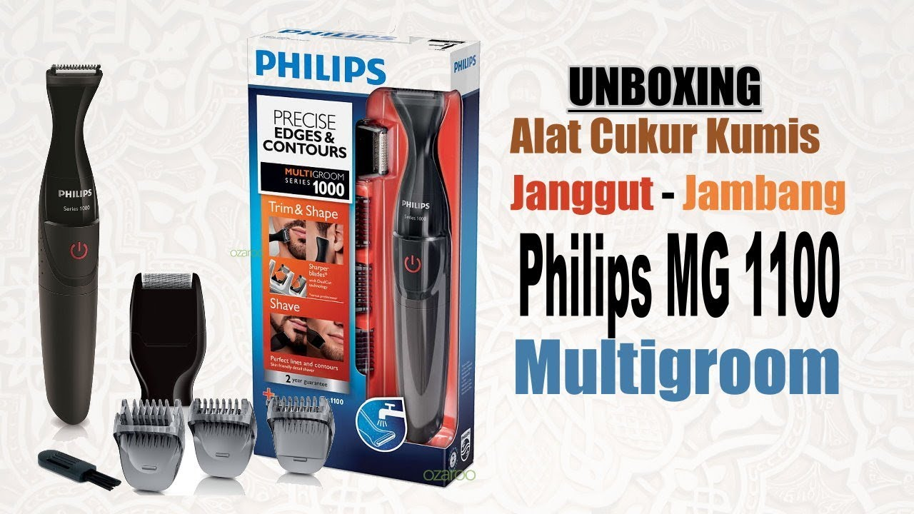 Philips Multigroom MG 1100 - YouTube 4f9740d222
