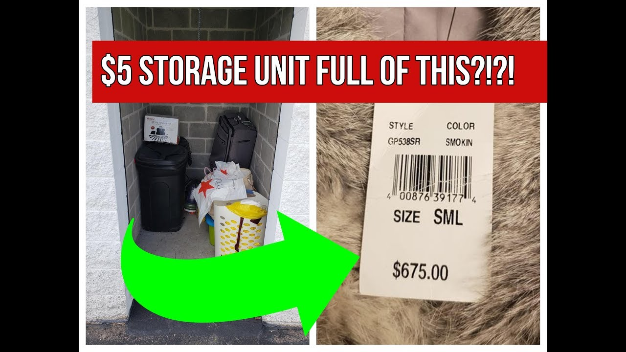 Chase/'s BOX of Storage unit stuff Youtube Special!