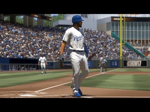 MLB The Show 17 - Omaha Storm Chasers vs Kansas City Royals | Gameplay (PS4 Pro HD) [1080p60FPS]