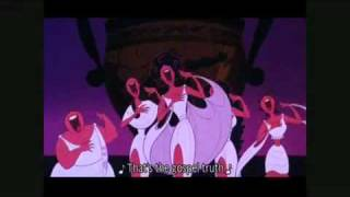 Top 55 Disney Songs 5th Place - The Gospel Truth - Hercules