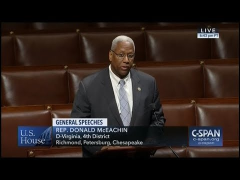 Congressman McEachin Speaks in Support of LWCF