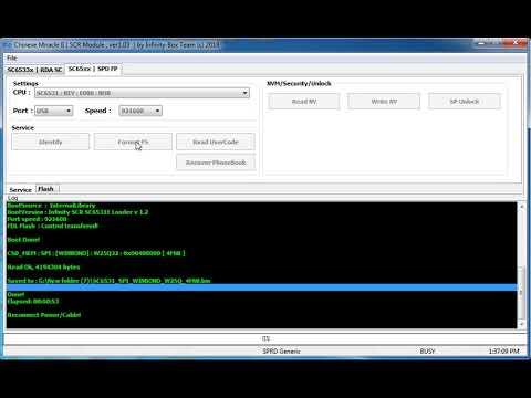 Qmobile Power 8 v2 SPD 6531E Read Flash And Format Cm2 SCR