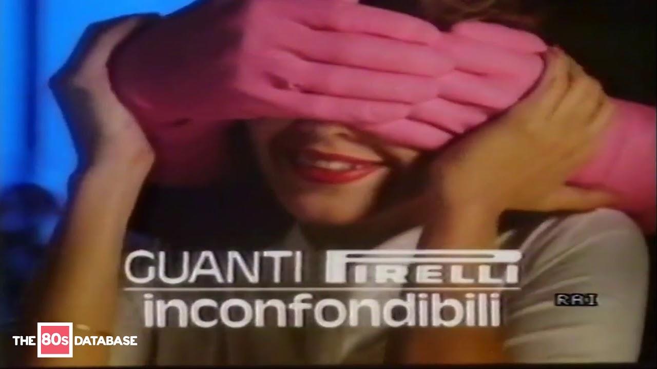 più economico acquista autentico nuovi arrivi SPOT GUANTI PIRELLI | 1987 | the 80s database